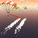 paraglider boat icon